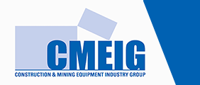 Construction Mining Equipment Industry Group Logo